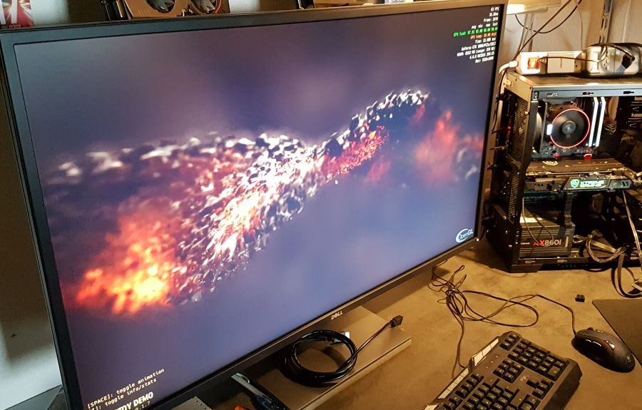 GeeXLab pixel shader benchmark