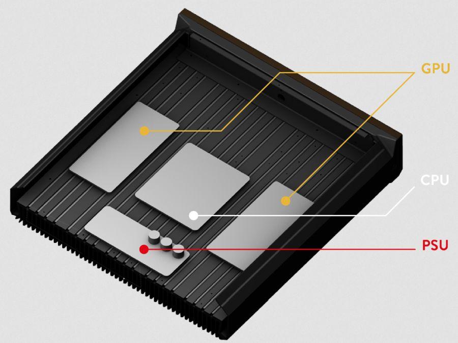 Qarnet QC.1 crypto heater
