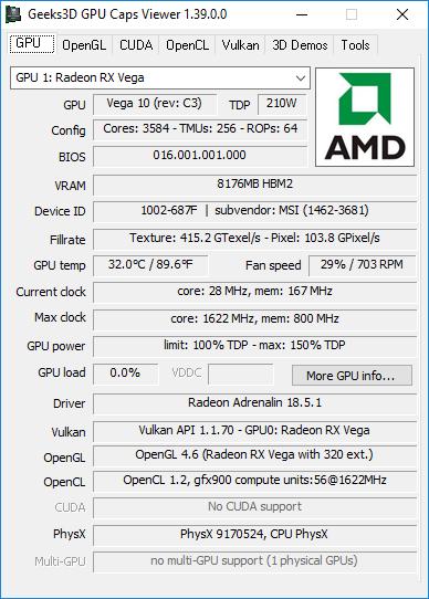 AMD Radeon Software Adrenalin Edition 18 5 1