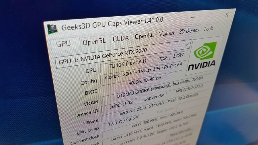 GPU Caps Viewer 1.41.0