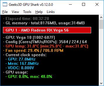 GPU Shark 0 12 0 released | Geeks3D