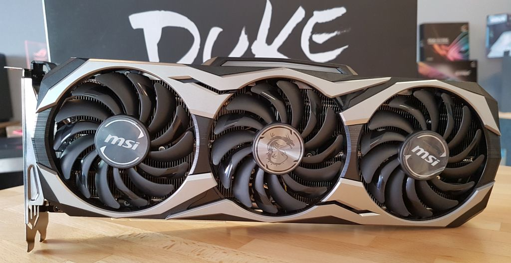 MSI GeForce RTX 2080 Ti Duke 11GB GDDR6 OC