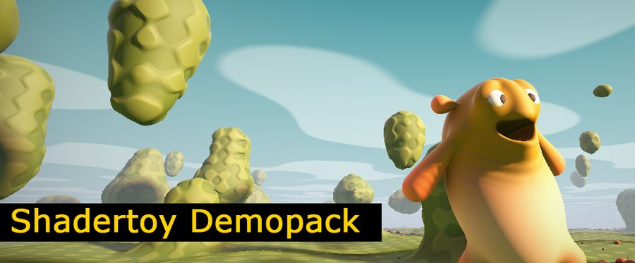 Shadertoy demopack for GeeXLab