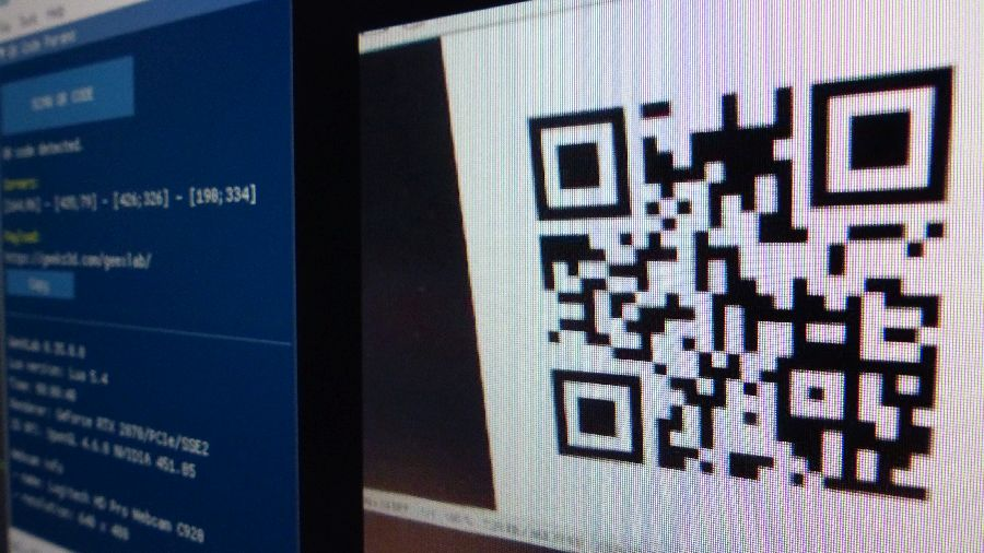 GeeXLab - QR Code Reader and Generator demo