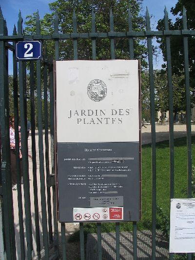 Paris panam jardin des plantes - Exposition dinosaures jardin des plantes ...