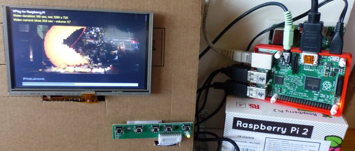 Adafruit 5-inch HDMI Touch Display 800x480 Tested with
