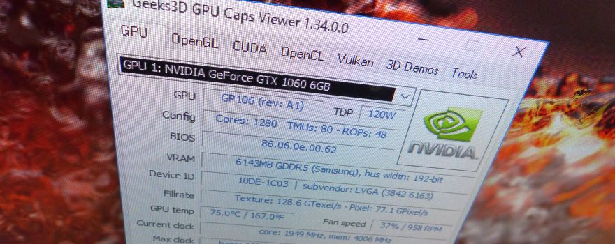 GPU Caps Viewer 1.34.0 Released
