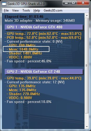 GPU Tools and GPU Memory Clock: Real and Effective Speeds