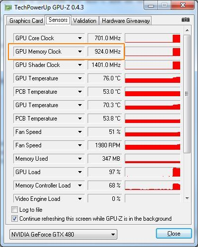 GPU Tools and GPU Memory Clock: Real and Effective Speeds