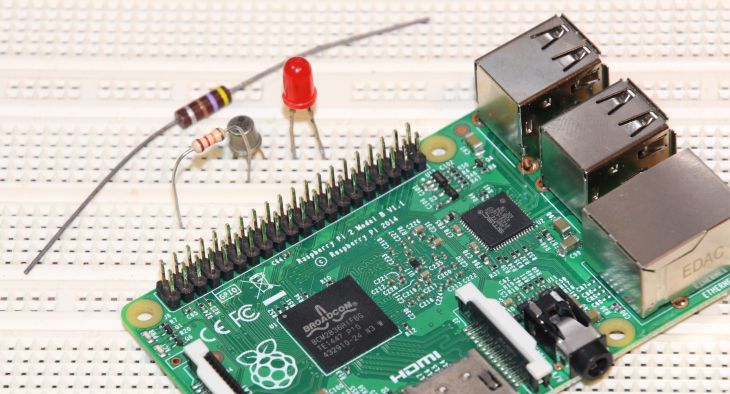 How to Control a LED With Raspberry PI GPIO and GLSL Hacker