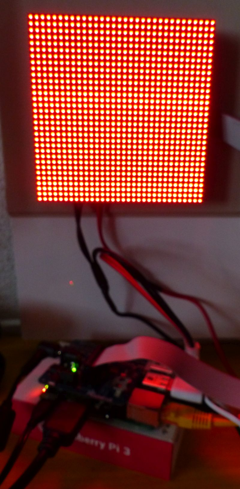 Drawing Simple Graphics on a RGB LED Matrix Panel with a
