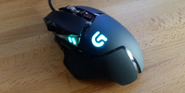 Logitech RGB LED Lighting: the Mouse | HackLAB
