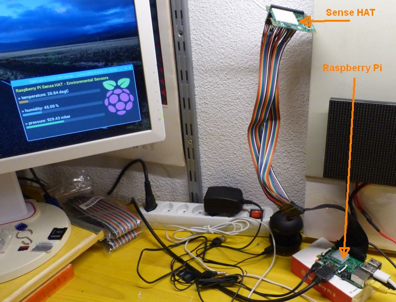 Weather station - Raspberry Pi Sense HAT