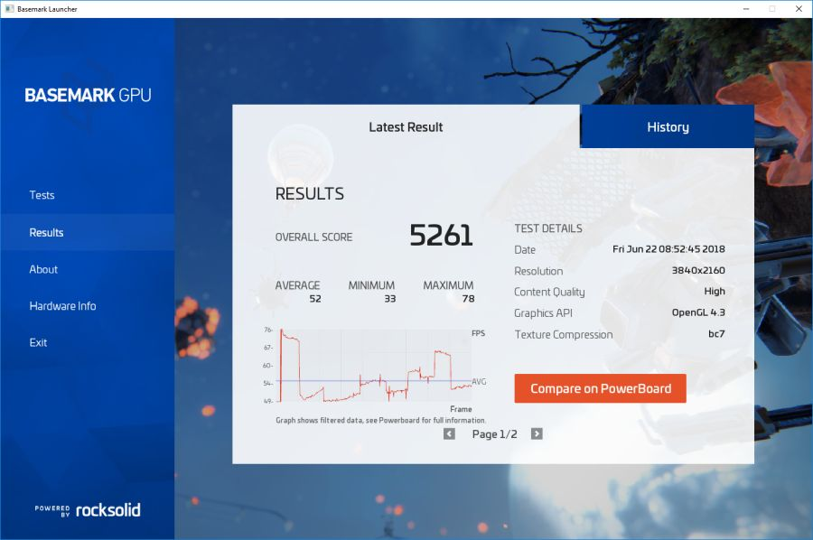 Tested) Basemark GPU: new graphics benchmark (OpenGL and Vulkan