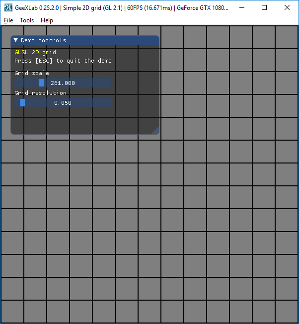 Simple 2D grid in GLSL