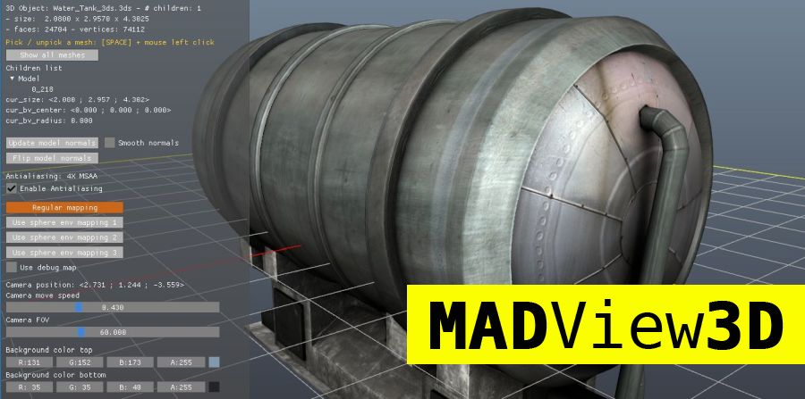 MadView3D