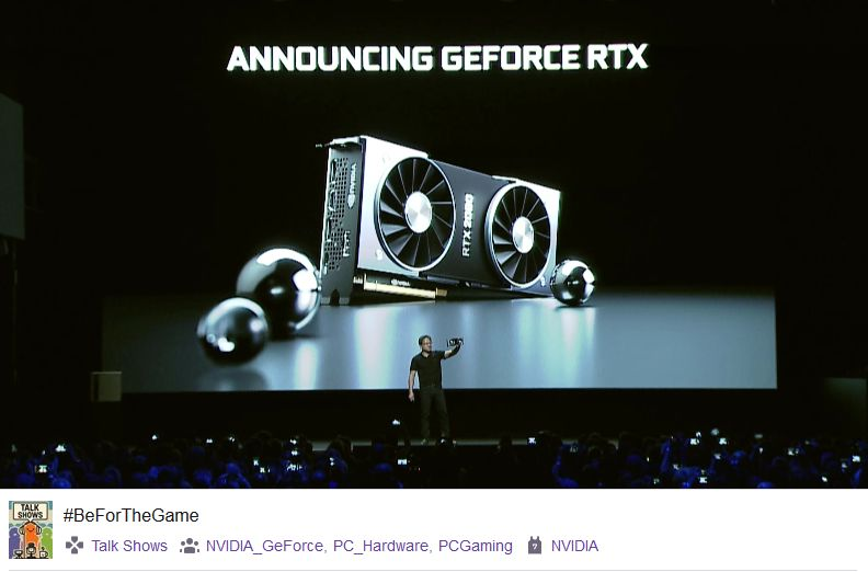 NVIDIA Announces GeForce RTX 20 Series (RTX 2080 Ti, RTX 2080 and