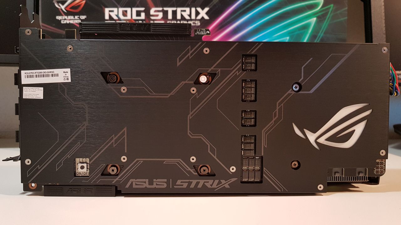 ASUS ROG Strix GeForce RTX 2080 OC Edition 8GB GDDR6
