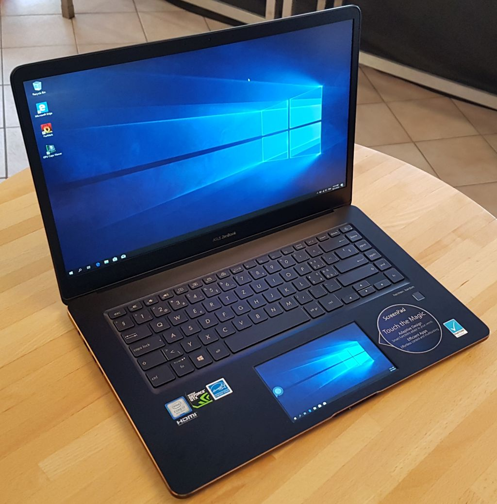 ASUS ZenBook Pro UX580G - Notebook with ScreenPad