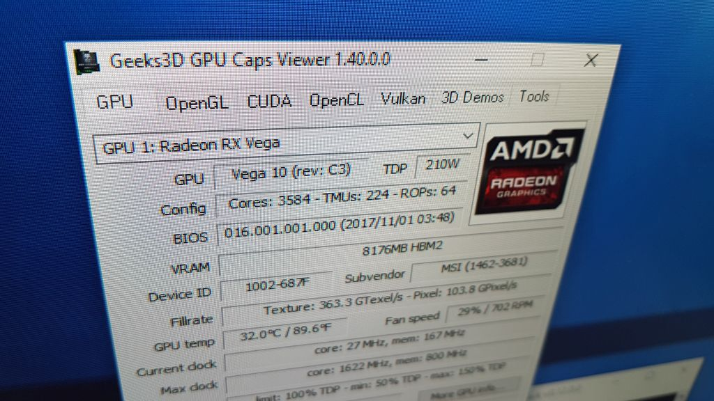GPU Caps Viewer 1.40.0
