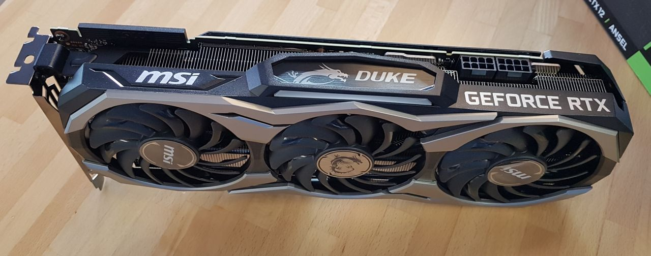 MSI GeForce RTX 2080 Ti Duke 11GB