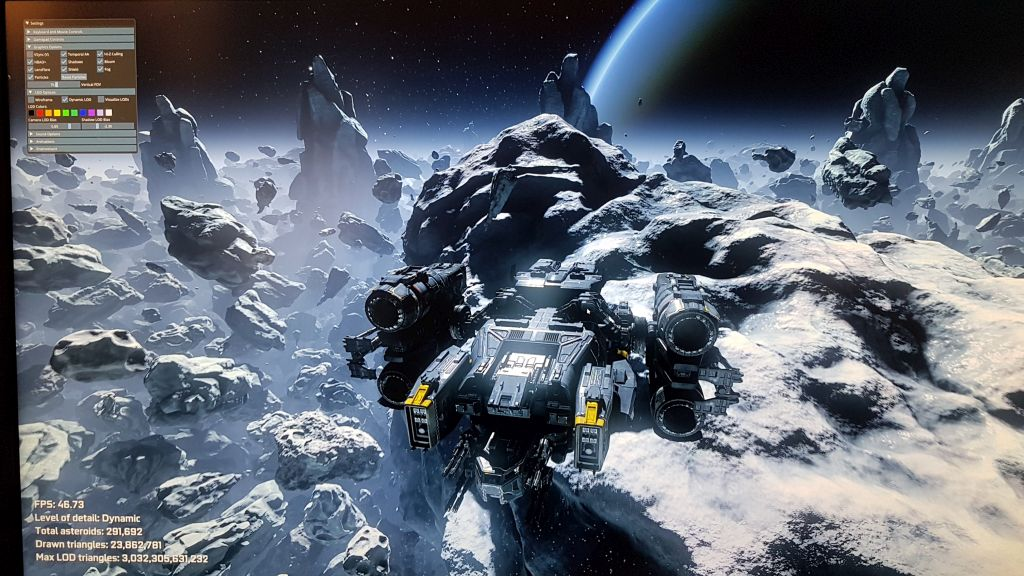 NVIDIA Asteroids Demo - GeForce RTX