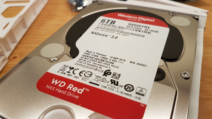 WD-Red 6TB hard disk
