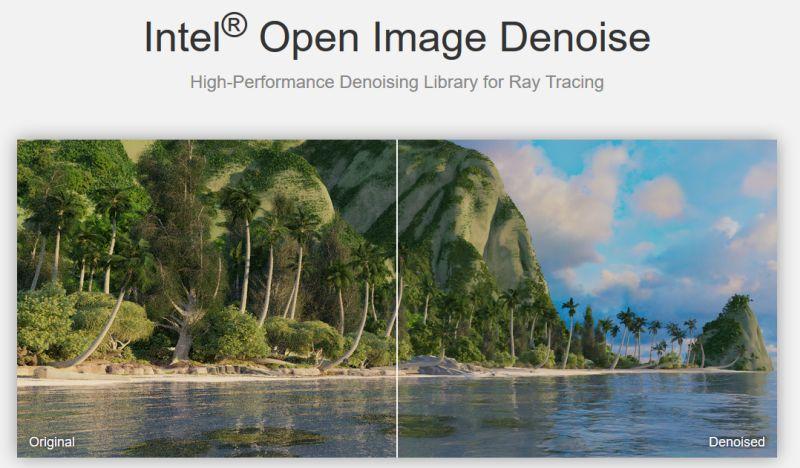 Intel Open Image Denoise