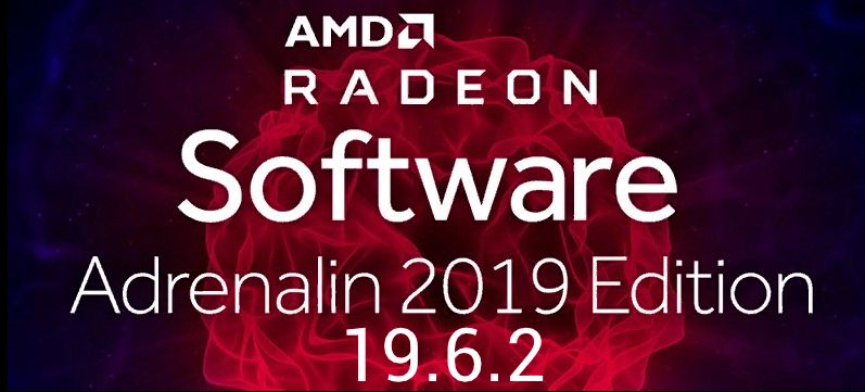 AMD Radeon Software - Adrenalin 19.6.2
