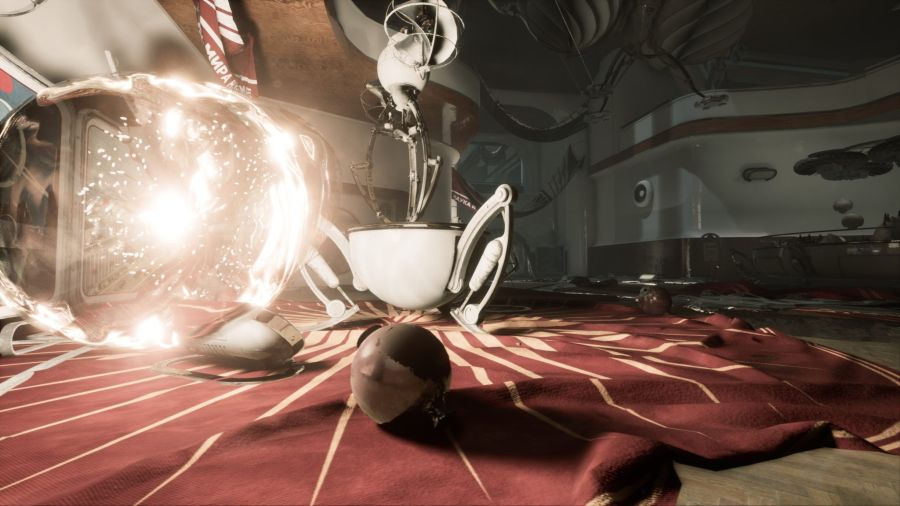 Atomic Heart RTX Demo