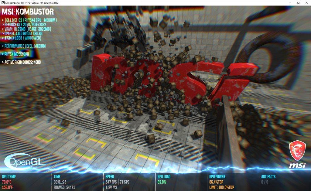 MSI Kombustor 4 0 1 0 Released   Geeks3D