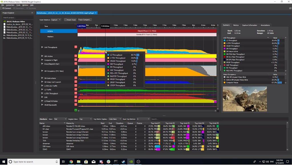 Nsight Graphics 2019.3