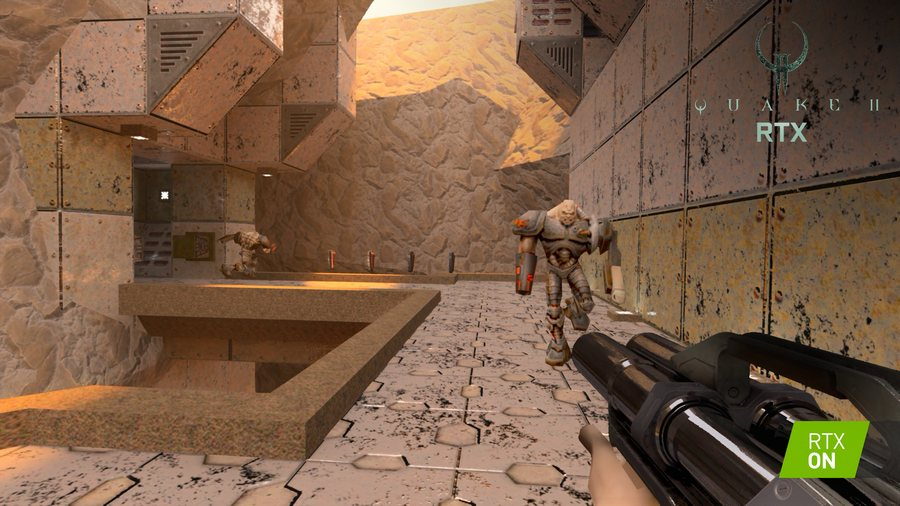 Quake II RTX: 1997's Quake II with Ray Tracing Available on