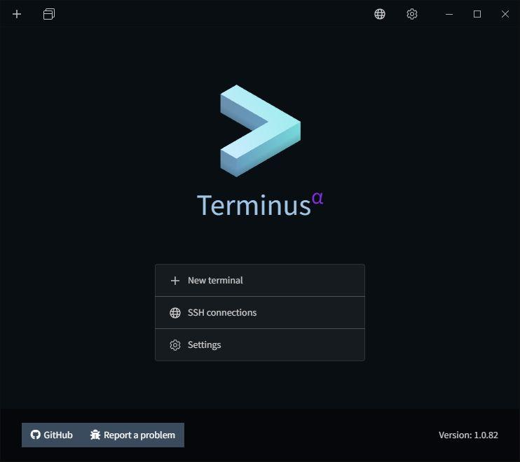 Terminus - terminal app