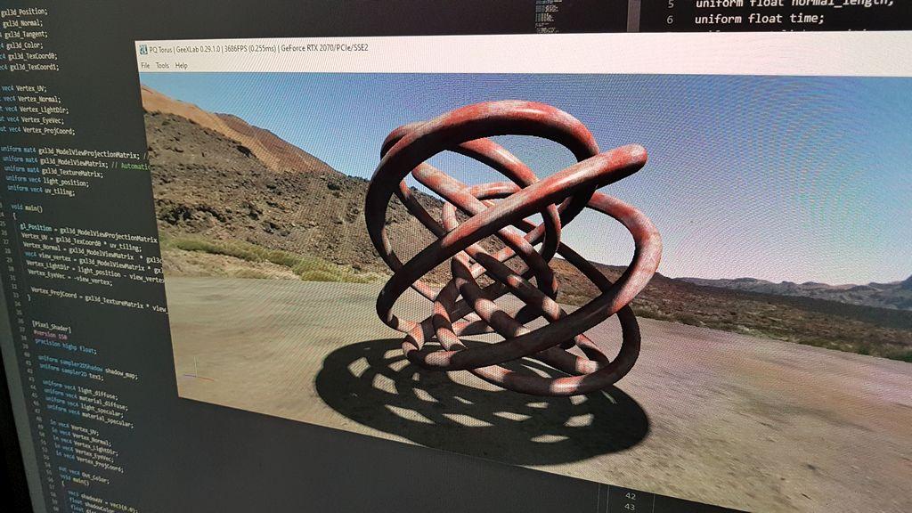 GeeXLab OpenGL 3.2 demopack