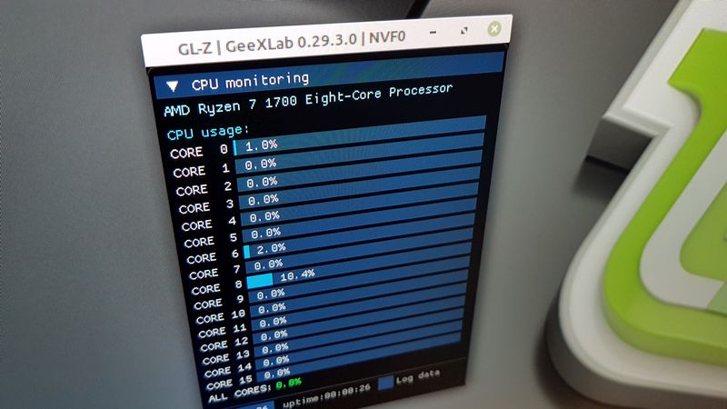 GL-Z - CPU monitoring on Linux