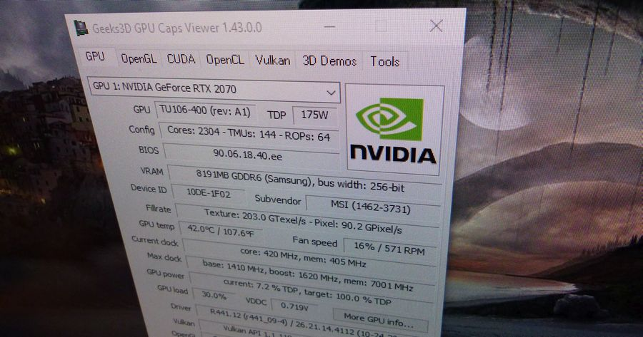 GPU Caps Viewer 1.43.0