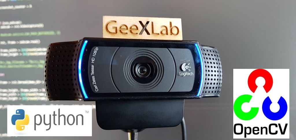 GeeXLab - Python 3 - Webcam video capture with OpenCV