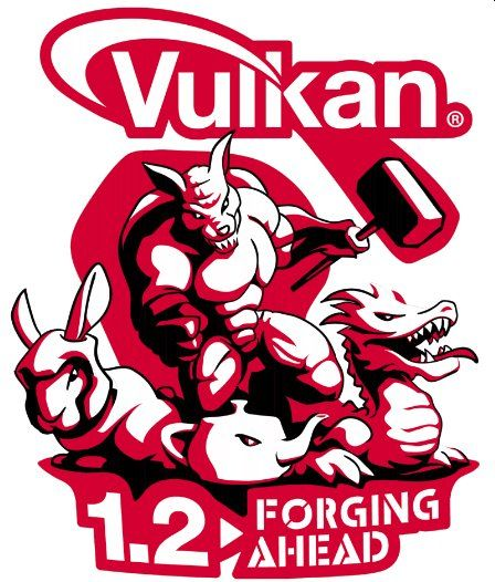 Vulkan 1.2 logo