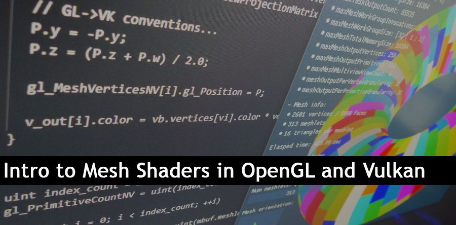 Introduction to Mesh Shaders in OpenGL and Vulkan