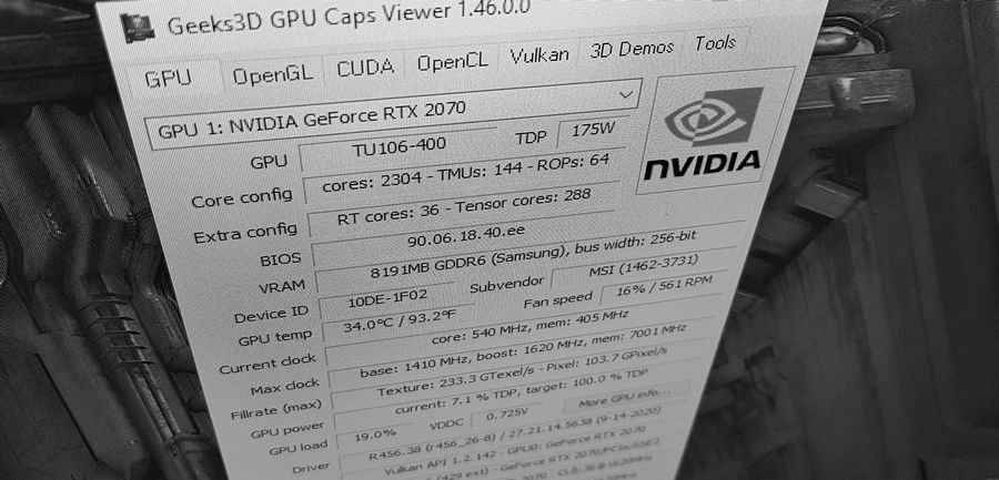GPU Caps Viewer 1.46.0