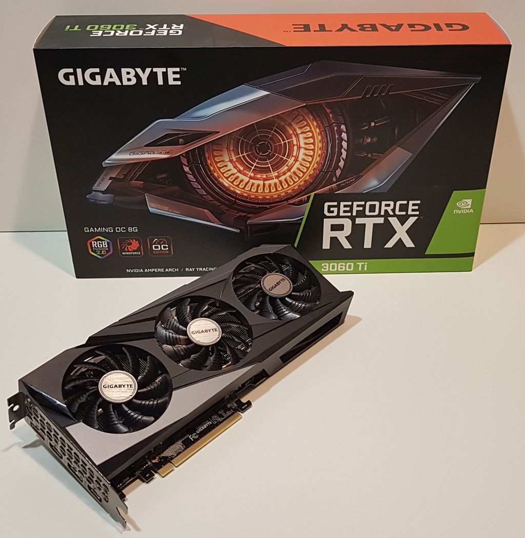 GIGABYTE GeForce RTX 3060 Ti Gaming OC 8G