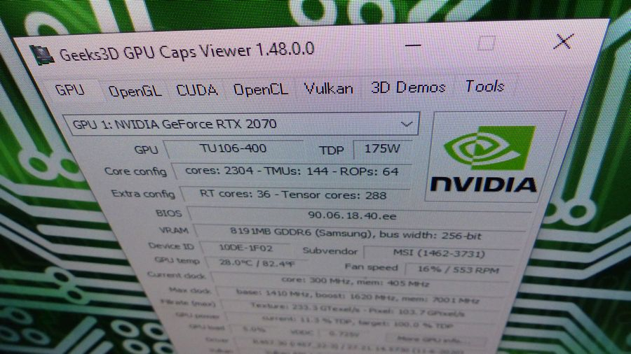GPU Caps Viewer 1.48.0