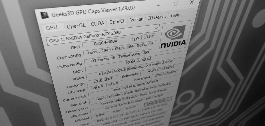 GPU Caps Viewer 1.49.0